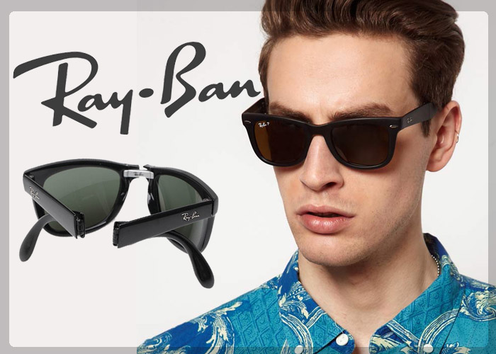 عینک اسپرت Ray Ban تاشو