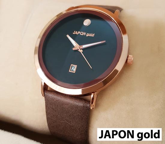 ساعت مچی مدل JAPON gold (مسی)