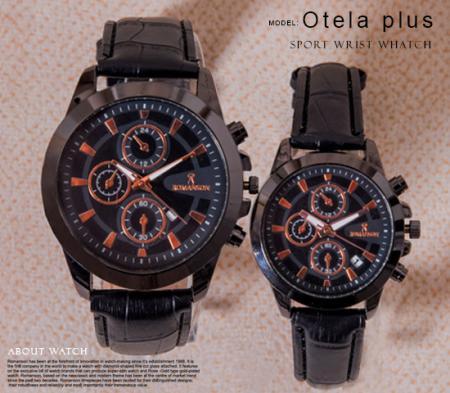 ست ساعت مچی Romanson مدل Otela Plus (تمام مشکی)