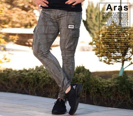 شلوار اسلش ارتشی مردانه مدل Aras