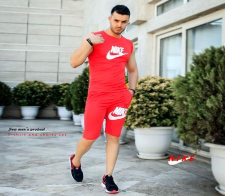 ست تاپ و شلوارک Nikeمدل Royal