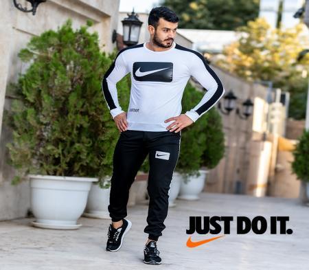 ست بلوز و شلوار Nike مدل belu