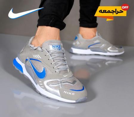 کفش مردانه Nike مدل Best( طوسی آبی)