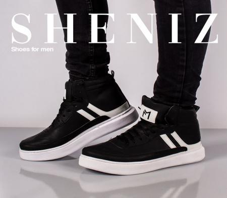 کفش ساقدار مردانه Sheniz(مشکی)